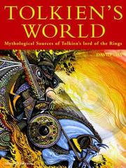 Cover of: Tolkien's World by David Day