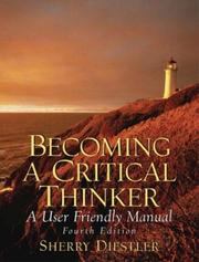 Cover of: Becoming a Critical Thinker by Sherry Diestler