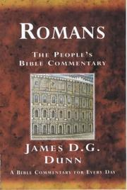 Cover of: Romans by Dunn, James D. G.