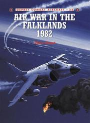 Cover of: Air War in the Falklands 1982 by Chant, Christopher.