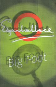 Cover of: Big Foot by Edgar Wallace