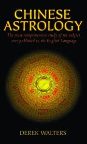 Cover of: Chinese astrology by Derek Walters