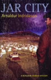 Cover of: Jar city by Arnaldur Indriason