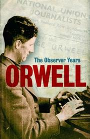 Cover of: Orwell by George Orwell