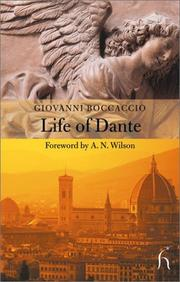 Cover of: Vita di Dante by Giovanni Boccaccio