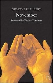 Cover of: November by Gustave Flaubert