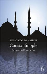 Cover of: Constantinople by Edmondo De Amicis