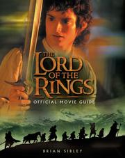 "Cover of: The ""Lord of the Rings"" Official Movie Guide by Brian Sibley"