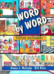 Cover of: Word by word picture dictionary by Steven J. Molinsky