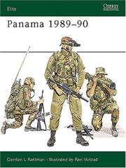 Cover of: Panama 1989-90 by Gordon Rottman
