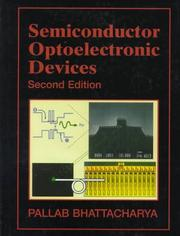 Cover of: Semiconductor Optoelectronic Devices by Pallab Bhattacharya