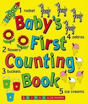 Cover of: Baby's First Counting Book by Lorna Kent