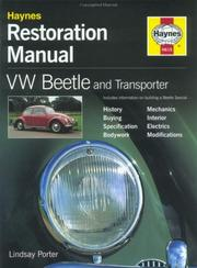 Cover of: VW Beetle & Transporter by John Harold Haynes
