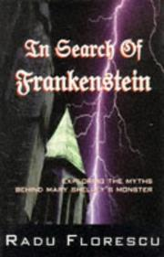 Cover of: In search of Frankenstein by Radu Florescu