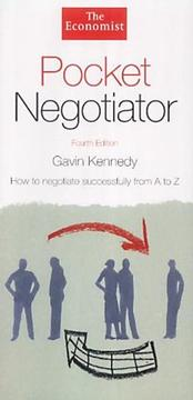 Cover of: Pocket negotiator by Gavin Kennedy