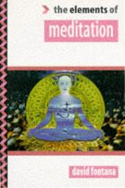 Cover of: Meditation (&quot;Elements of ... &quot; Series) by David Fontana