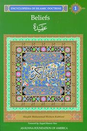 Cover of: Beliefs by Muhammad Hisham Kabbani