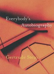 Cover of: Everybody's autobiography by Gertrude Stein