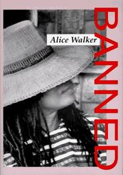 Cover of: Banned by Alice Walker