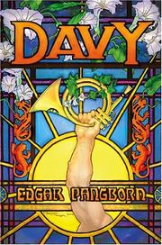 Cover of: Davy by Edgar Pangborn