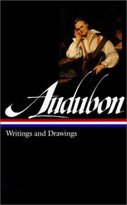 Cover of: Writings and drawings by John James Audubon