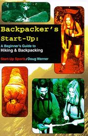 Cover of: Backpacker&#39;s Start-Up by Doug Werner