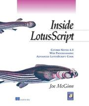 Cover of: Inside LotusScript by Joe McGinn