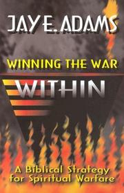 Cover of: Winning the War Within by Jay Edward Adams