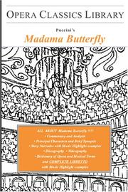 Cover of: Madama Butterfly by Giacomo Puccini