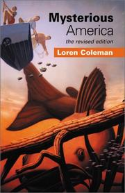 Cover of: Mysterious America by Loren Coleman