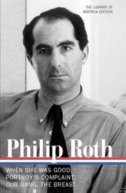 Cover of: Novels by Philip Roth