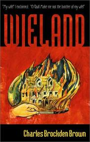 Cover of: Wieland by Charles Brockden Brown