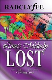Cover of: Love&#39;s Melody Lost by Radclyffe