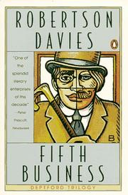 Cover of: Fifth Business by Robertson Davies