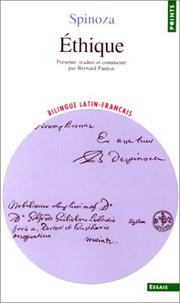 Cover of: Ethique by Baruch Spinoza