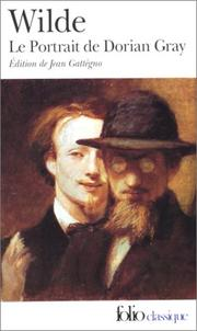 Cover of: Le portrait de Dorian Gray by Oscar Wilde