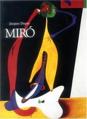 Cover of: Miro by Jacques Dupin