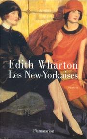 Cover of: Les New-Yorkaises by Edith Wharton