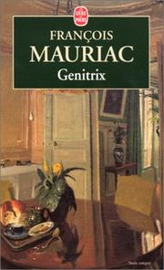 Cover of: Genitrix by Franois Mauriac