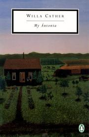Cover of: My Antonia by Willa Cather
