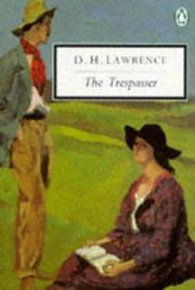 Cover of: The trespasser by D. H. Lawrence