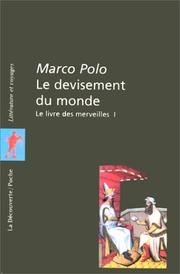 Cover of: Le devisement du monde by Paul Pelliot