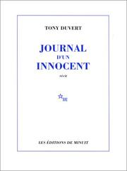 Cover of: Journal d&#39;un innocent by Tony Duvert