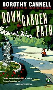 Cover of: Down the Garden Path (Tessa Fields Mystery) by Dorothy Cannell