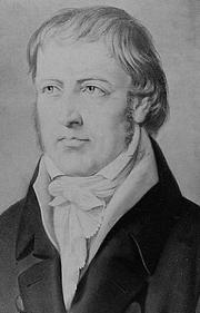 Photo of Georg Wilhelm Friedrich Hegel