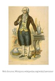 Photo of Antoine Laurent Lavoisier
