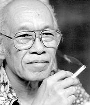Photo of Pramoedya Ananta Toer