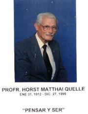 Photo of Horst Matthai Quelle