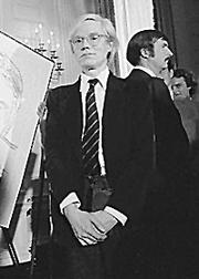 Photo of Andy Warhol