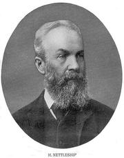 Photo of Henry Nettleship